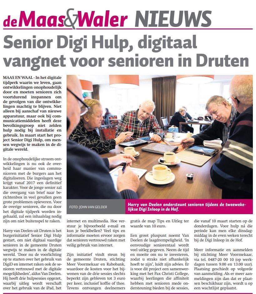 Senior Digitaal Vangnet
