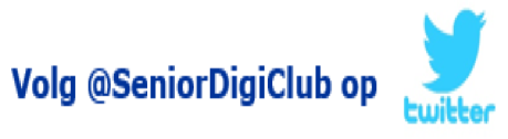 Volg Senior Digi Club op Twitter
